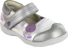 darling lavender and silver!!! Girls shoes