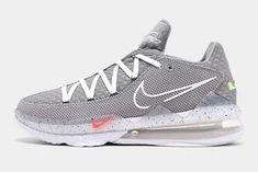 Nike Grey Out the LeBron 17 Low - Sneaker Freaker Jordan 11 Cool Grey, Kobe Lebron, Rhyme And Reason, Fresh Kicks, High Tops, Air Jordans, Sneakers Nike, Chameleon, Black