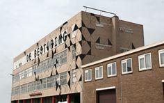 ateliercomplex/broedplaats  'De Besturing' op industrieterrein de binckhorst.
