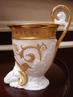 A Russian porcelain cup (19th century)