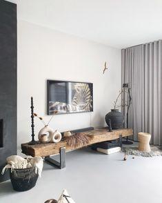 Living Room Modern, Living Room Designs, Living Room Decor, Love Home, Minimalist Decor, New Room, Sweet Home, New Homes, House Design