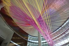 String Theory: Turning 30 Miles of Yarn Into One Massive Sculpture [Video] | Co.Design: business + innovation + design