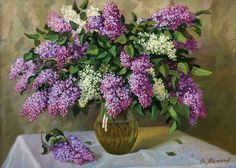 Lilac Oil Paintings - Google Search