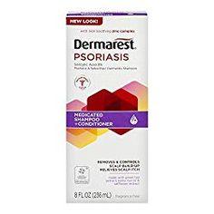 Dermarest Psoriasis Medicated Shampoo Plus Conditioner, 8 FL OZ, Multicolor Best Shampoo For Psoriasis, Scalp Psoriasis Shampoo, Scalp Psoriasis Treatment, Plaque Psoriasis, Psoriasis Remedies, Psoriasis Cure, Fragrance Free Shampoo, Vaseline Original