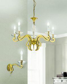 #Lampadario a sospensione e #lampada a parete. Scopri tutta la collezione qui --> http://www.lamexport.it/web/collections/?cat=vd