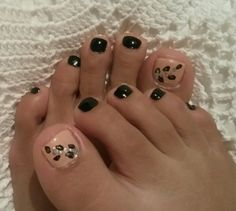 Nails Black #ChoosingNailTips
