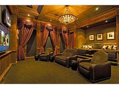 Home Theater Curtains Movie themed bedrooms - home theater design ideas - Hollywood style decor - movie decor - Film decor - home cinema decor - movie theater decor - Home Theater Curtains - cabinet knobs movie theater Home Theater Curtains, Home Theater Rooms, Home Theater Design, Cinema Room, Wall Curtains, Stage Design, Media Room Design, Small Room Design, Restaurants