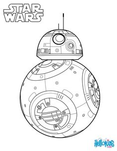 BB-8 - The Force Awakens coloring page