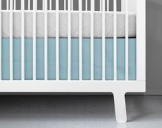 Shop OLLI+LIME for black and white crib bedding. Gender neutral modern baby bedding, baby blankets and more to help you create a beautiful nursery. White Crib Skirt, White Crib Bedding, Modern Baby Bedding, Modern Crib, Nursery Modern, Baby Bedding Sets, Cotton Bedding, Nursery Bedding, Blue Crib