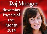 "Robin ""Raj"" Munger, Psychic Medium, November 2014, www.bestamericanp..., #bestamericanpsychics, #shayparker, #robinrajmunger, #BAPAwardWinner"