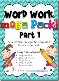 first grade word work - Google Search