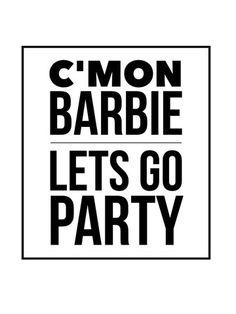 C'mon Barbie – WildeCherry