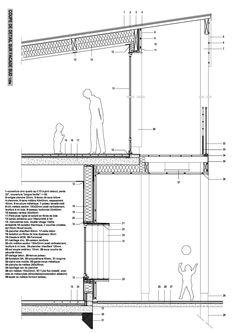 Architecture Symbols, Detail Architecture, Architecture Plan, Architecture Drawings, Building Systems, Building Design, Autocad, Kindergarten Design, Schematic Design