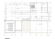planta de primer piso centro de ocio