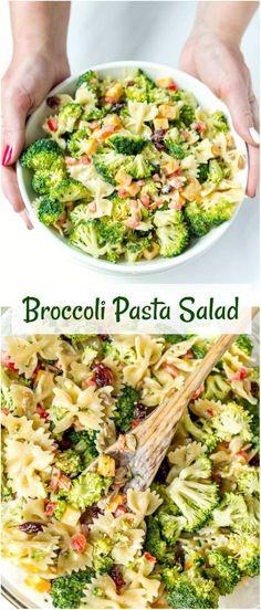 Broccoli Pasta Salad | WonkyWonderful