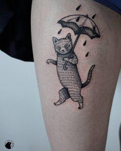 """Polubienia: 187, komentarze: 4 – Aleksandra Wieczorkiewicz (@aledziara) na Instagramie: """"Dziękuję Ada za zaufanie i przebycie tylu km! ☔ #tat #tattoo #tattoos #ink #tattoostudio #art…"""""""