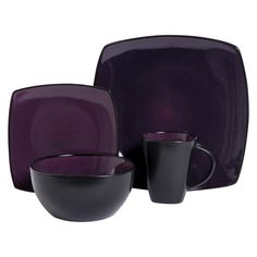 Ordering on payday Gibson Soho Lounge 16 Piece Dinnerware Set / Multicolor. My new dinnerware