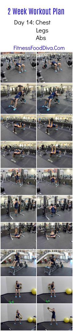 NEW! 2 Week Workout Plan Day 14