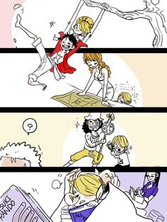 One Piece, Sanji (child), Strawhat pirates