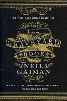 The Graveyard Book by Neil Gaiman (design by Gregg Kulick). One of my fave Gaiman books, beautiful cover design. Neil Gaiman, I Love Books, Books To Read, My Books, George Orwell, The Graveyard Book, Fantasy Magic, Fantasy Books, Beautiful Book Covers