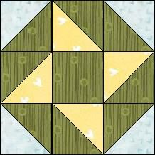 "Quilt-Pro Systems - Quilt-Pro - Block of the Day ""Garden Star"" (No Pattern)"