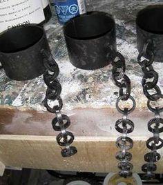 Easy shackles using pvc