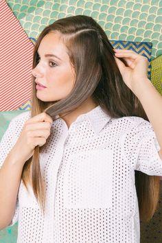 Quick, easy hair DIYs that take less than 5 minutes