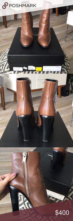 Authentic Saint Laurent Booties ***NO TRADES*** Worn few times. There's a little stuffing in the inside, see pictures. Overall in perfect condition. Box and dust bag! Make me an offer. Saint Laurent Shoes Heeled Boots