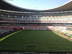 Estadio Azteca, Mexico City.