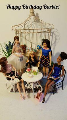 The One Sixth Scale Dollhouse Barbie Birthday, Happy Birthday, Diy Dollhouse, New Set, Birthday Celebration, Old Photos, Action Figures, Scale, Birthdays