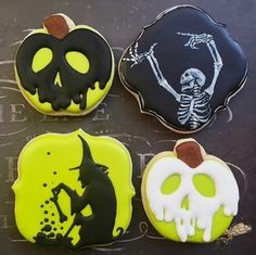 Halloween Cookies by @localtartbakery                                                                                                                                                                                 More