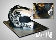 mx helmet cake - Google Search