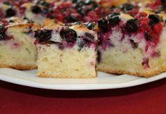 Bögrés-kefires ribizlis süti | NOSALTY My Recipes, Cooking Recipes, Good Food, Yummy Food, Sweet Cookies, Pound Cake, Vanilla Cake, Noodles, Cheesecake