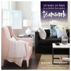 Join my 20 ways 20 Days to a Clutter Free Space program NOW! This offer is FREE, but only for a limited time. Decluttering is one of the best ways of transforming a space without any high costs or time constraints. See instant results with my declutter program TODAY! Make sure you opt in today so you don't miss out! To find out more check out this link: www.naomifindlay.com/20ways20days