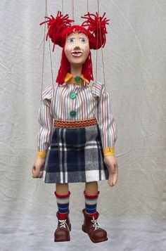 string puppet , marionette