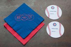 baseball card centerpieces | Baseball Themed Bar Mitzvah Invitations | Chicago Cubs Baseball ...