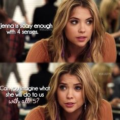 Pretty Little Liars ~ again I prove my point that Hanna has logic and sass! maybe not a lot of logic but.... I still love her