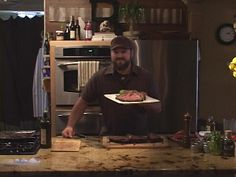 Zac Brown's  Smoked Whole Ribeye  1/2 cup sea salt  1/4 cup black pepper  1/3 cup thyme dried  1/2 cup rosemary  1/4 cup granulated garlic  1/4 cup dehydrated onion  3 kinds dried mushrooms - 1 cup total Oyster,Porcini, etc.  Soak ribeye in red wine i.e. cabernet in a plastic bag for 1 hour. Next, blend all ingredients in blender until fine. Pack mixture on ribeye and rub use it all.