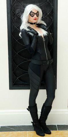 Katie Cosplays as Black Cat