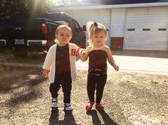 Danny Zuko + Sandra Dee ❤ Grease️ family toddler costumes
