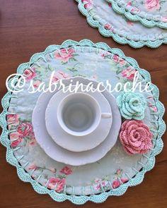 Crochet Potholders, Crochet Doilies, Crochet Flowers, Sewing Crafts, Sewing Projects, Crochet Decoration, Gold Nails, Diy Crochet, Placemat