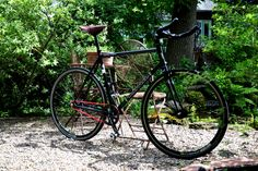 My Kona Paddy Wagon fixed gear with red chain. #gofaster
