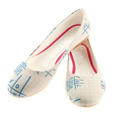 Ballerina Pumps XOX, 34€, now featured on Fab.