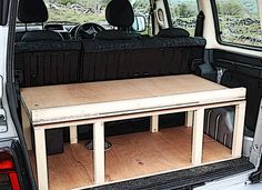 Citroen Berlingo & Peugeot Partner camper van conversion module.