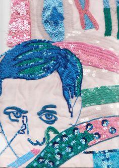 Roberta Einer textile detail