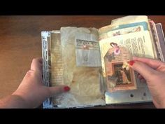 Thanks for a lovely journal Maria. Maria's channel is Angelfish Design and here is the link: https://www.youtube.com/channel/UCYjrxbeKgD8cmA60koFXERQ Thanks ...