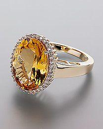Harry Ivens Goldberyll Ring