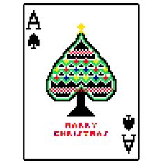 Trump Card(spade) - pixel art by jaebum joo, via Behance