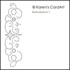 Karen's CardArt --- borduurpatroon1