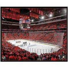 Wells Fargo Center, Flyers vs Boston Bruins game